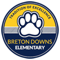Breton Downs Elementary School Logo